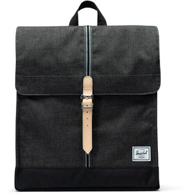 Herschel City Mid-Volume Backpack 14l black crosshatch/black